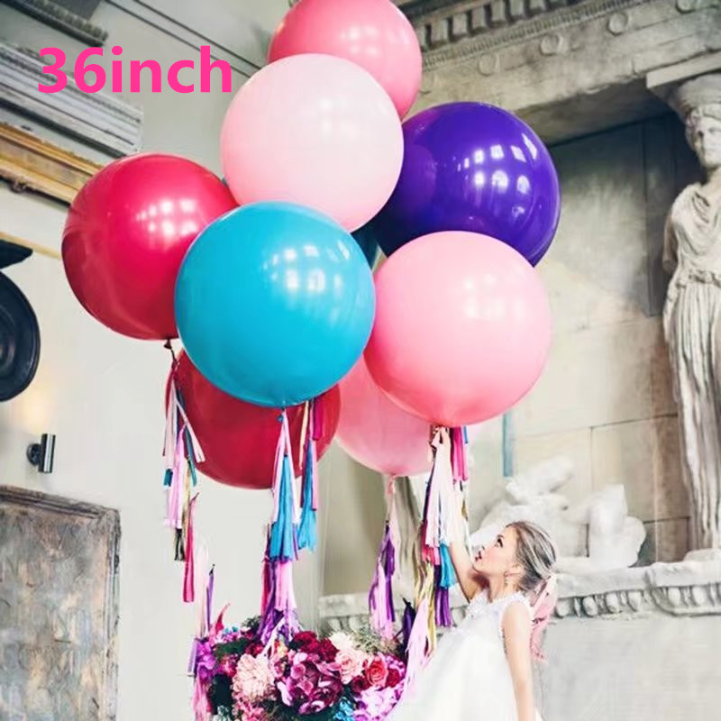 KAMMIZAD 8pcs Disco Dance party balloons pink blue sliver gold red black chain link balloon hipop party dance floor balloons