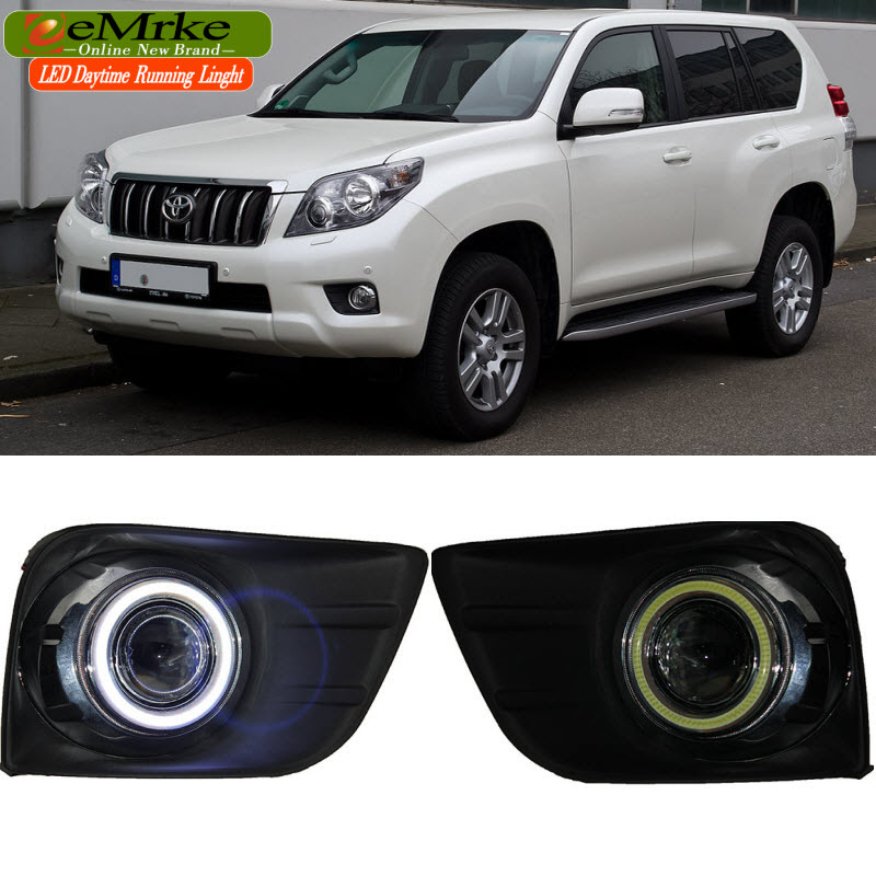 eeMrke para Toyota Land Cruiser Prado 4000 / LC150 FJ150 LED Angel - Luces del coche