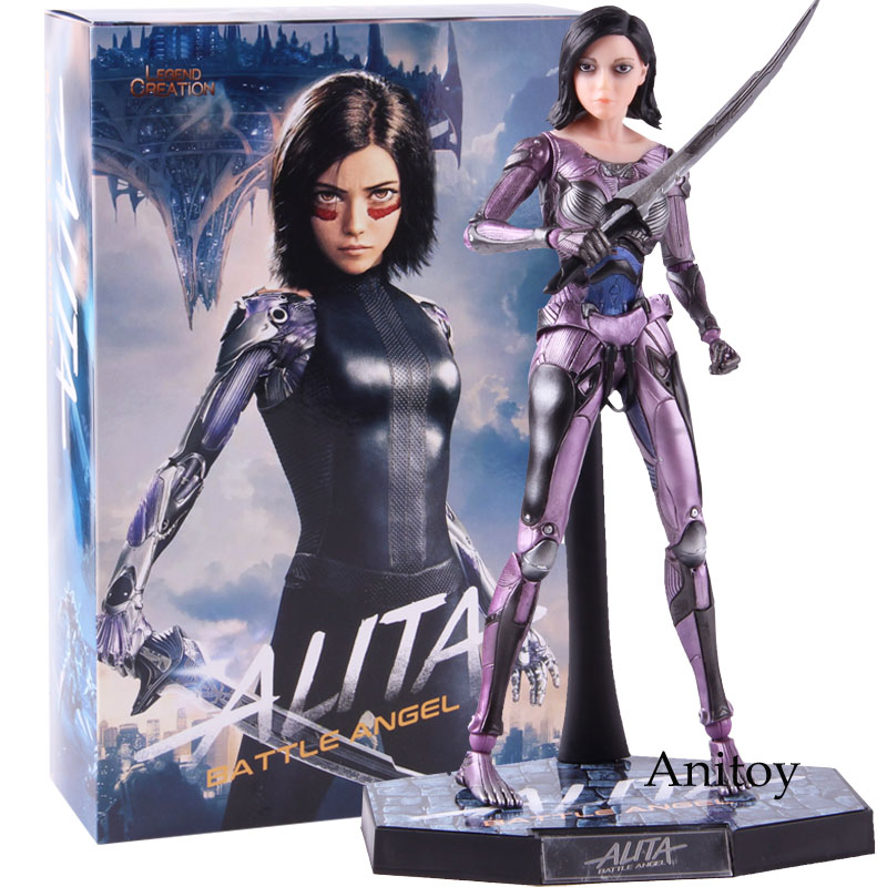 Image 4 - Alita Action Figure Legend Creation Alita Battle Figure 1/6 Scale Alita Figure PVC Collectible Model Toy 25.5cmAction & Toy Figures   -