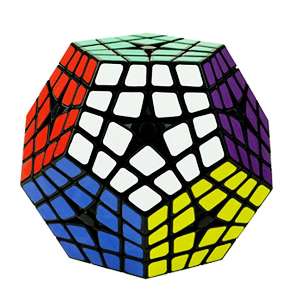 ShengShou 4*5*12 côtés Cube magique 4 quatre couches autocollants Megaminx 4x5x12 Puzzle Cube jouet pour enfants enfants