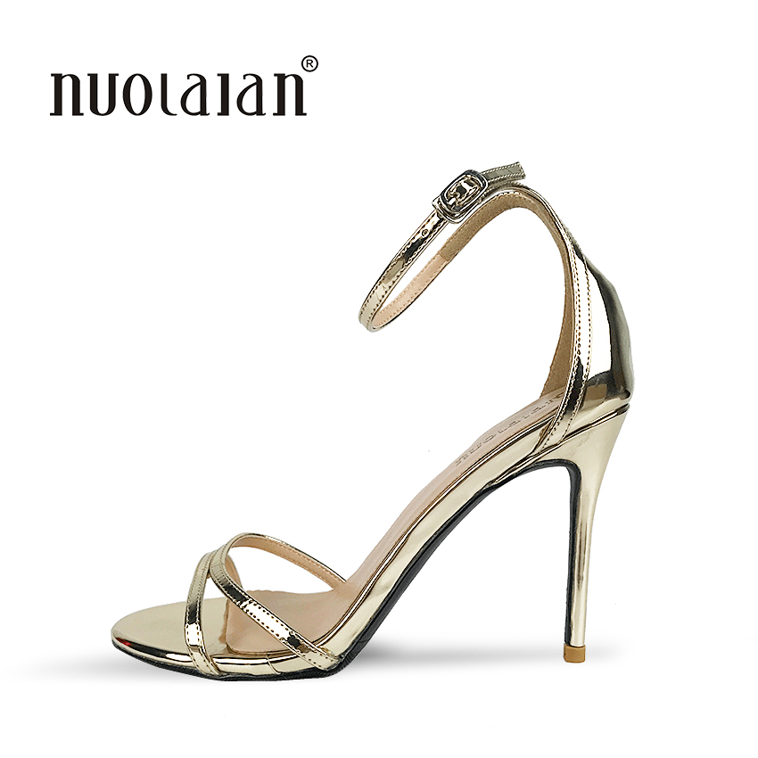 Top Quality Women Pumps Peep Toe Thin High Heels Sandal 2018 New Fashion Luxury Women Shoes Wedding Bridal Shoes Woman new ab crystal bridal wedding shoes women peep toe fashion high heels pumps woman real leather platform shoes round toe shoes