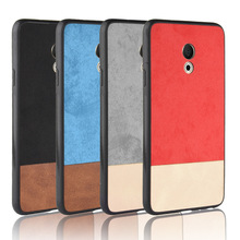 For Meizu 15 Lite Case 5.46 inch Soft TPU+PU+PC Stitching co