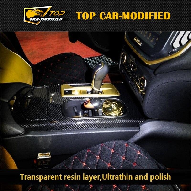 Бесплатная доставка 6 шт./компл. аксессуары для интерьера автомобиля для Maserati Ghibli низкая версия аксессуары двери внутри отделочные планки