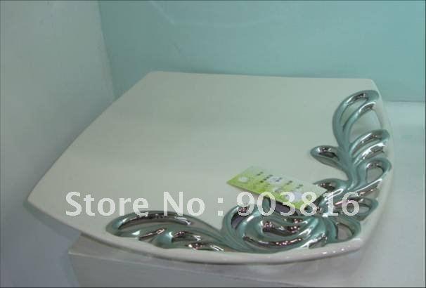 Ferr shipping home decor furnishings Decoration creative crafts Fruit plateTop ceramic Plate  Art