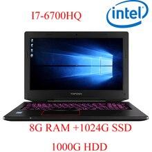 """P6-11 8G DDR4 RAM 1024G SSD 1000G HDD i7 6700HQ AMD Radeon RX560 NVIDIA GeForce GTX 1060 4GB 15.6 gaming laptop"""""""
