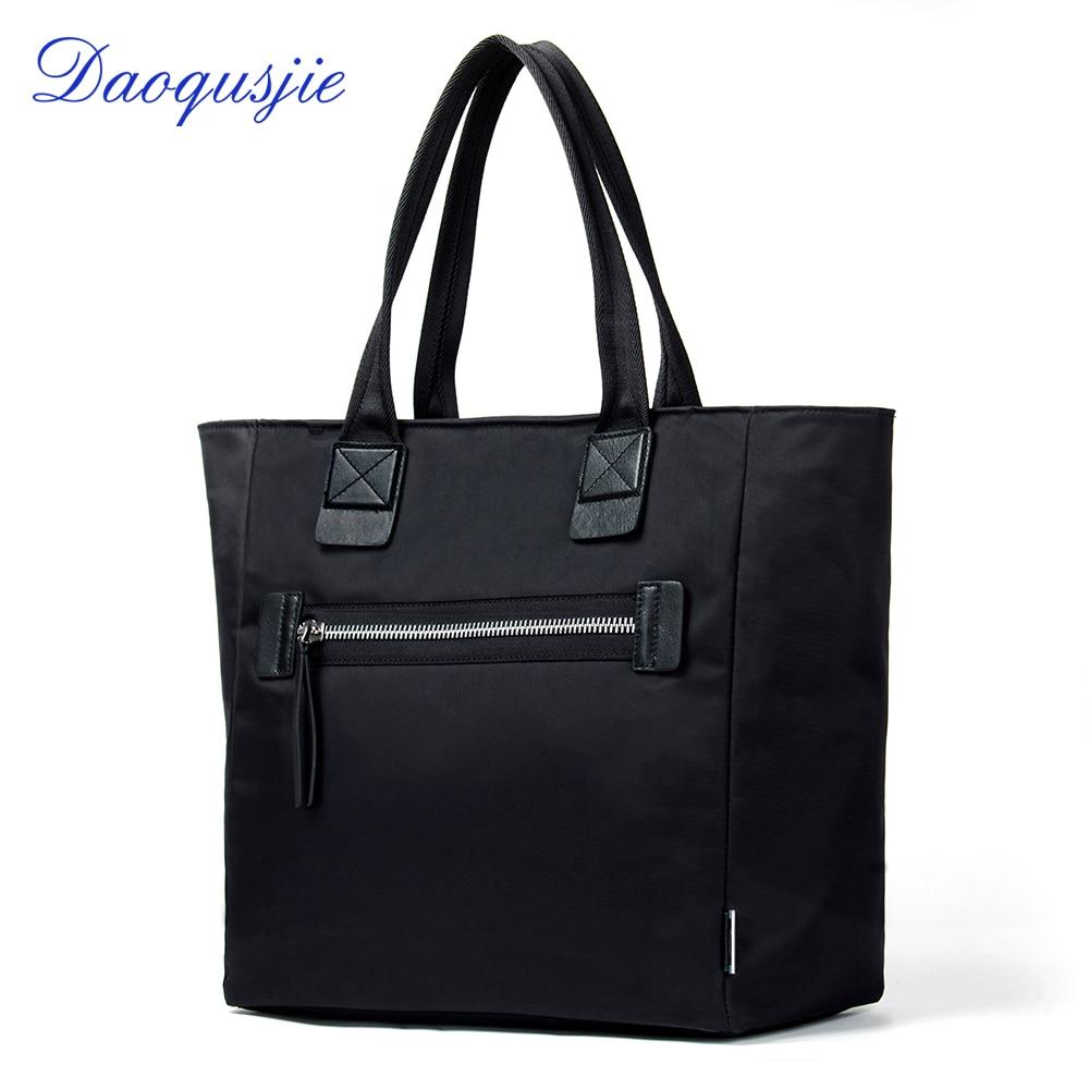 DAOQUSJIE nylon tote bag for women large capacity female luxury handbags designer waterproof travel bags top-handle bolsos mujer цена