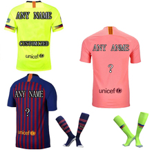 The European 2018-19 New Men's Customized Name Numbers Men's T-shirt  Top AAA Quality t shirt men Team Uniforms