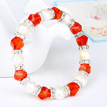 3e274141a0539 Cheap price crystal Imitation pearls friendship Bracelet,festival charm  pearl healing crystal bracelets for women Jewelry gifts