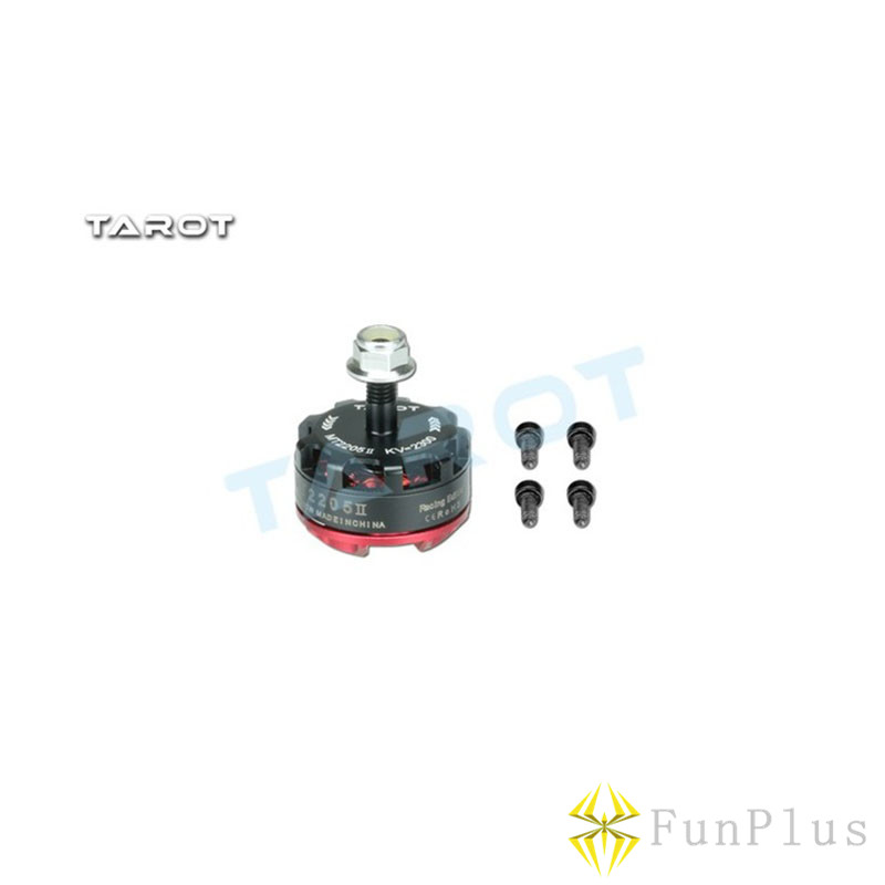 Tarot MT2205 II 2300KV CW Brusheless Motor with Siliver Screw Nut For FPV Flight Controller Drone Racer drone with camera rc plane qav 250 carbon frame f3 flight controller emax rs2205 2300kv motor fiber mini quadcopter