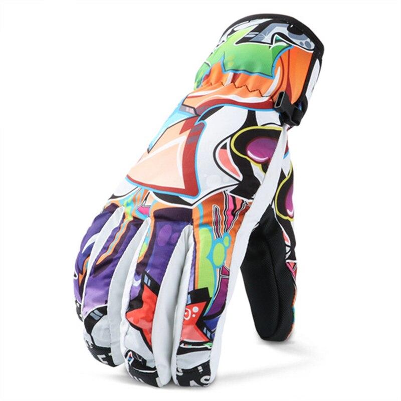 Prix pour Hiver professionnels Gants de Ski thermique Étanche/Cool-résistant Snowboard gants hommes et Femmes spécial styles gants pour la neige