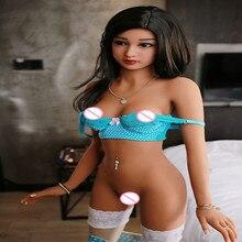 Ailijia157cm 4 # qualidade superior lifelike tpe com esqueleto sexo bonecas boneca amor da vida real, oral vagina anal real humano bonecas