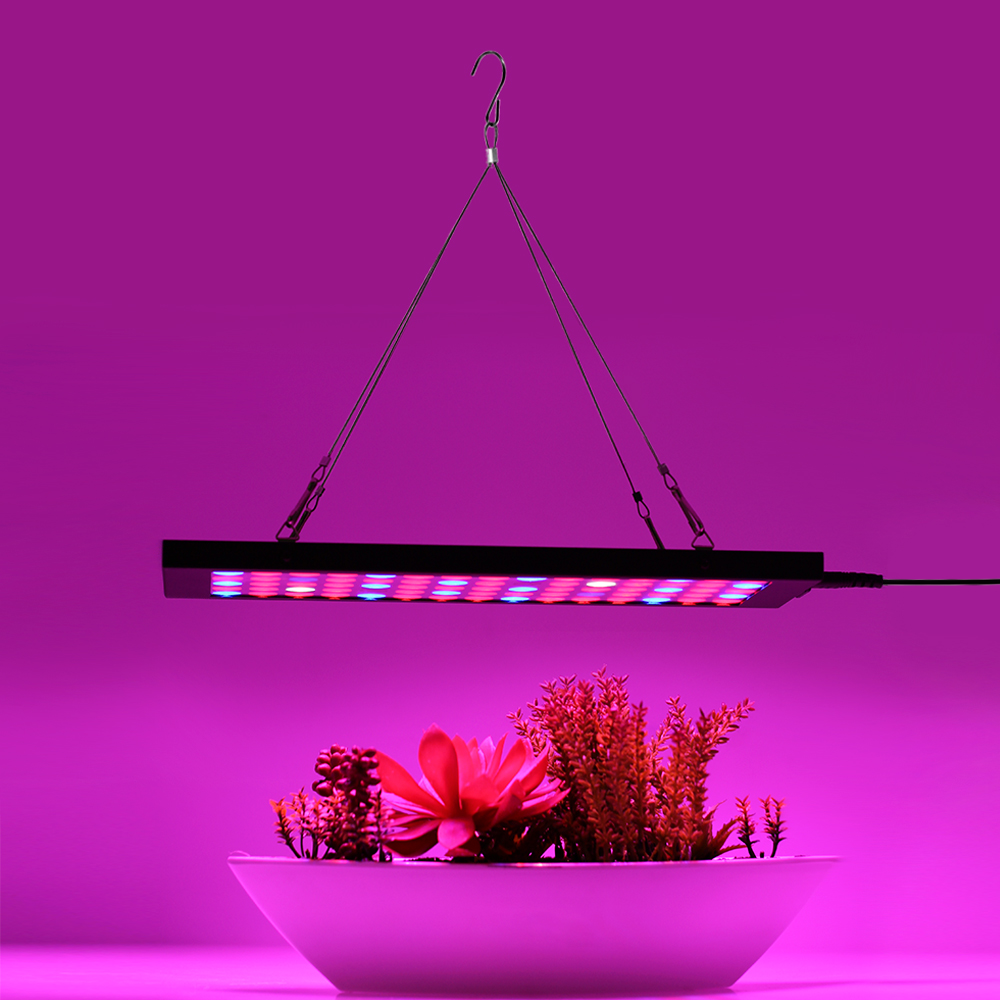 LED Grow Light Full Spectrum 40W Ultrathin Hoisting Grow LED For Indoor  Greenhouse Grow Tent Plants