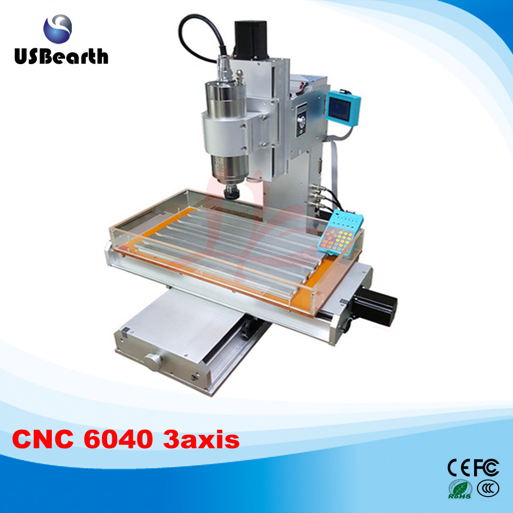 3 axis cnc router 6040 1.5KW/2.2KW cnc milling machine with water tank for metal wood, Russia free tax  jft high quality cnc wood router with water tank 4 axis 800w water cooling woodworking machine with parallel port 6040