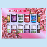 12 Pcs Box Natural Herbs Aromatherapy Essential Oil Humidifier Oils Set