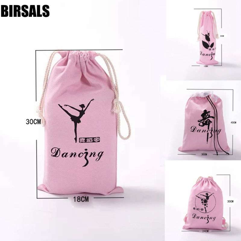 Free Shipping Girls Toddler Pink Ballet Dance Handbag AS8650 Children Ballerina Shoes Bags For Girls