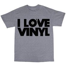 "Great ""I Love Vinyl"" men's t-shirt"