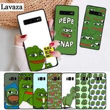 Lavaza the Frog meme pepe Colorful Cute Silicone Case for Samsung S6 Edge S7 S8 Plus S9 S10 S10e Note 8 9 10 M10 M20 M30 M40