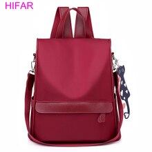 HIFAR Anti-theft Oxford Backpack Female elegant Designer School Bags For Teenager Girl Waterproof Travel Women Bagpack