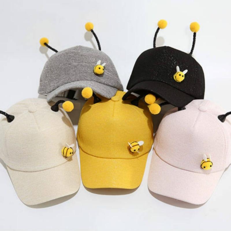 Spring Cute Children Baseball Caps Baby Girls Sun Visor Hats Boys Snapback Kids Summer Sun Cap Hip Hop Hat