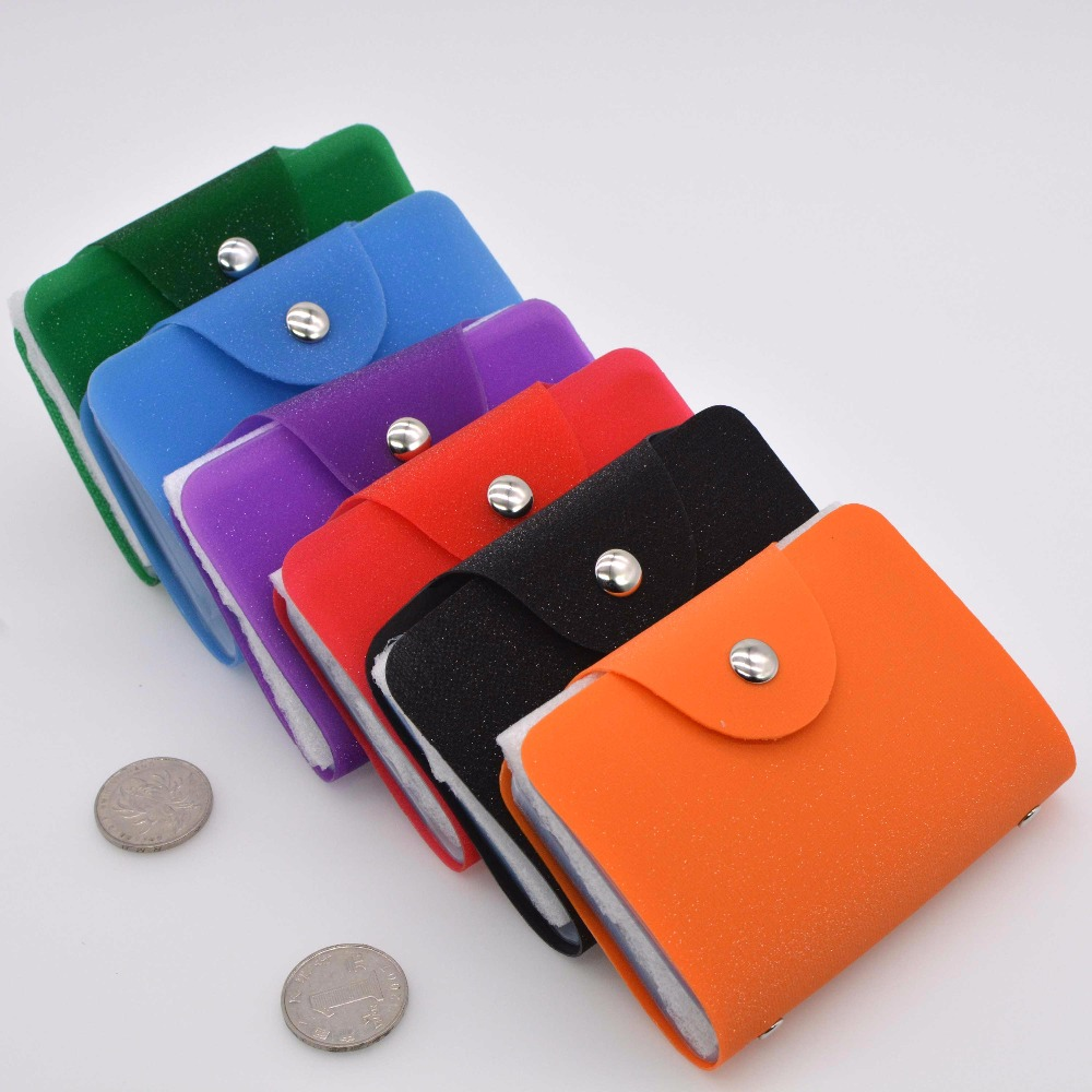 2018New comes flaring colourful ID Credit Card Holder Organizer ...