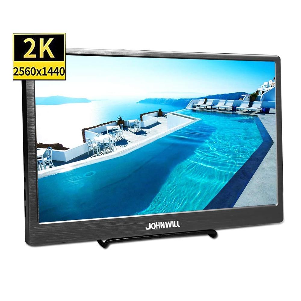 10 1 Inch Portable Monitor HD 2560 x 1600 IPS Screen type c LCD LED Display