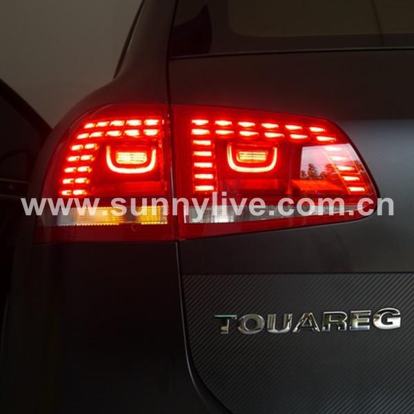 touareg led tail lights coding
