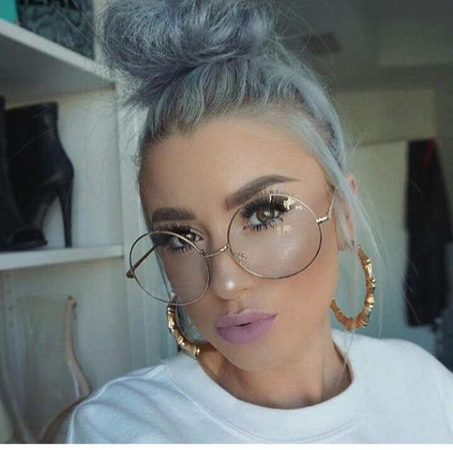 Clear Lens Glasses For Round Face
