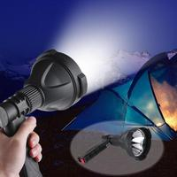 Handheld Portable Flashlight USB Rechargeable High Power T6 LED Flashlight Lawn Lamp Outdoor Handheld Torch Searchlight Lamp