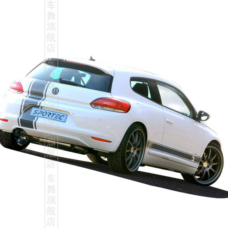 New 2015 Sportive Car Whole Body Decor Modified Stickers For Vw Polo