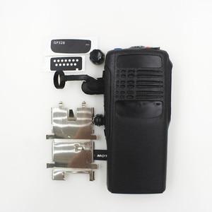 Image 5 - Obudowa GP328 obudowa przednia powierzchnia skorupy + osłona przeciwpyłowa + pokrętło do radiotelefonu Motorola GP328 GP5150 GP340 DIY Walkie Talkie