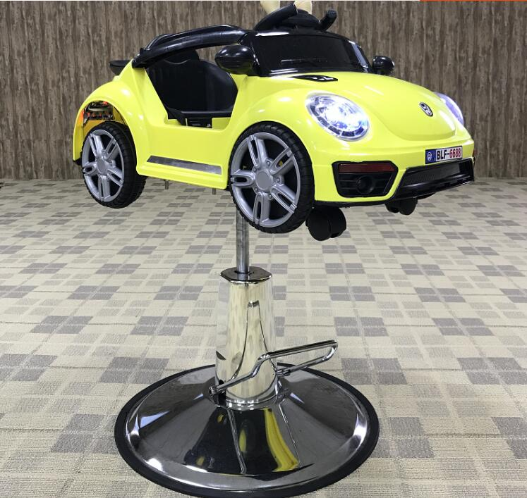 Children's Haircutting Car Toy Car Hair Cutting Chair Children's Hair Cutting Chair Four-wheel Airplane Baby Music Hair Cutting