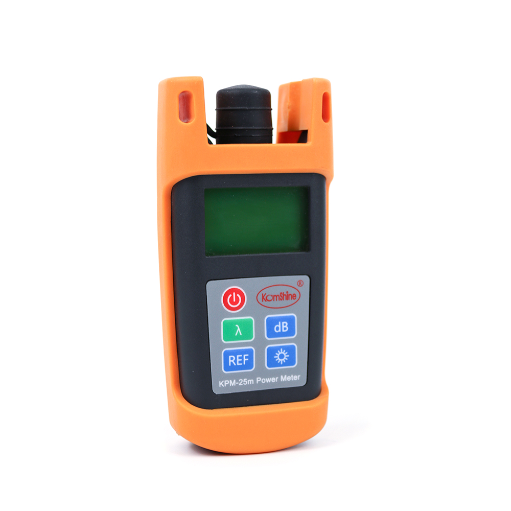 Image 2 - KomShine KPM 25 OPM optical power meter  with SC/UPC connector-in Fiber Optic Equipments from Cellphones & Telecommunications