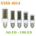 36 56 72 96 138 Led Bulb E27 E14 GU10 G9 Led Corn Light Ultra Bright SMD 4014 Led Corn Lamp AC 85-265V Chandelier Bulb Light