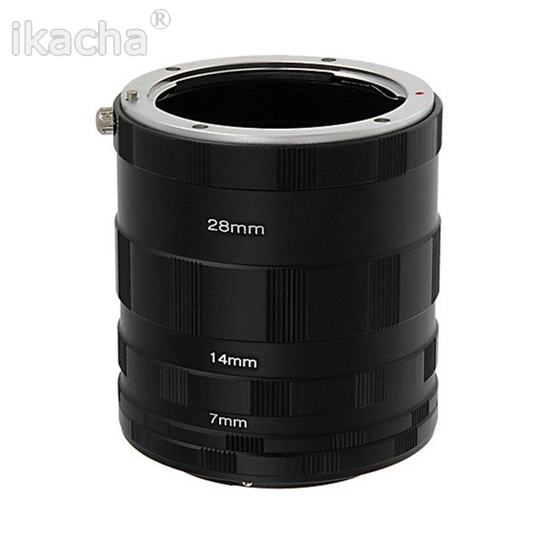 3 Macro Extension Tube Ring Ring Lens Adapter for Nikon D800 D3100 D5000 D7000 D70 D50 D60 D100 Անվճար առաքում