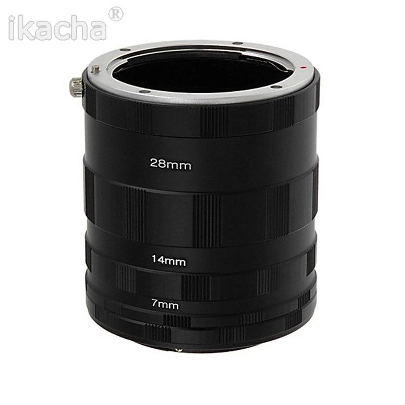 3 anillo tubo de extensión macro Adaptadores para objetivos para Nikon d800 d3100 D5000 D7000 D70 D50 D60 D100 envío libre