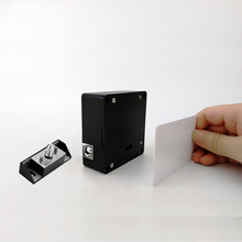 Electronic Invisible Hidden Card Cabinet Lock Private Locker Drawer M1 Card Lock Black