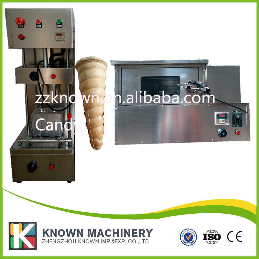 Spiral Pizza Cone Pizza Double Head Sweet Pizza Machine Commercial 110V/220V+ Pizza Cone Oven