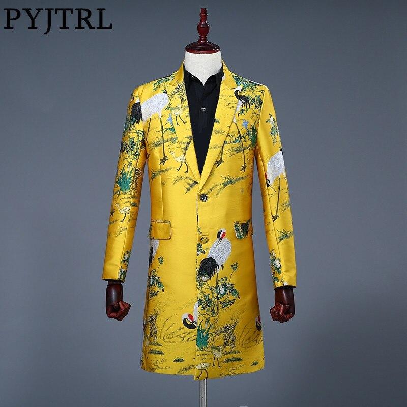 Blazers Suits & Blazers Loyal 2019 New Men Streetwear Hip Hop Iron Ring Casual Blazer Jacket Male Vintage Fashion Suit Coat Spring Autumn Overcoat