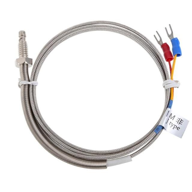 0 600C High Quality 1m J Type Temperature Thermocouple with 6mm ...