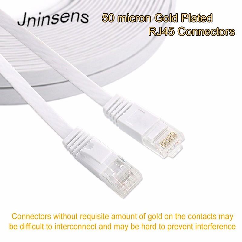 2 pc Cat 6 CAT6 Patch Cord Cable Ethernet Internet Network LAN RJ45 2m-50m Lot