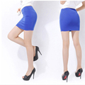 2016 New Fashion Women Casual Empire Packet Buttock Short Skirts Sexy Lady Candy Color Solid Mini-Skirt Free Shipping 003