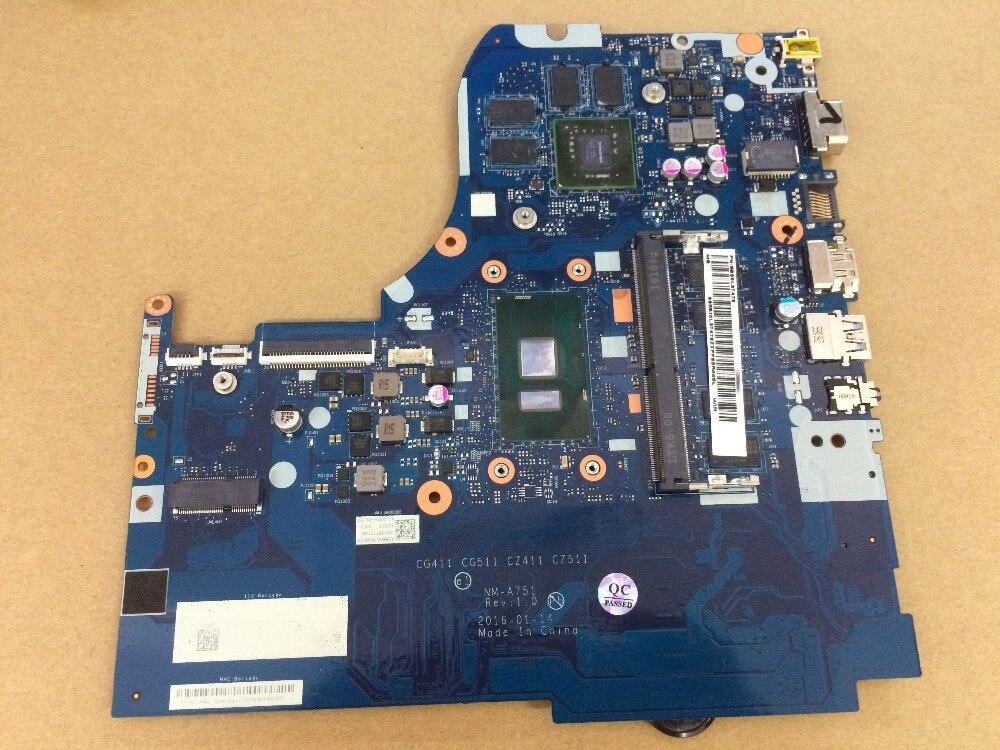 купить For Lenovo 310-15ISK 510-15ISK Laptop Motherboard CG411 CG511 CZ411 CZ511 NM-A751 mainboard with I5-6200U CPU 940MX 4GB GPU по цене 16084.81 рублей