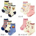Hot Sale Baby Socks (3pcs/lot)100% Cotton Unisex Character Cartoon Pattern Casual Baby Warm Socks 0-2T RD002