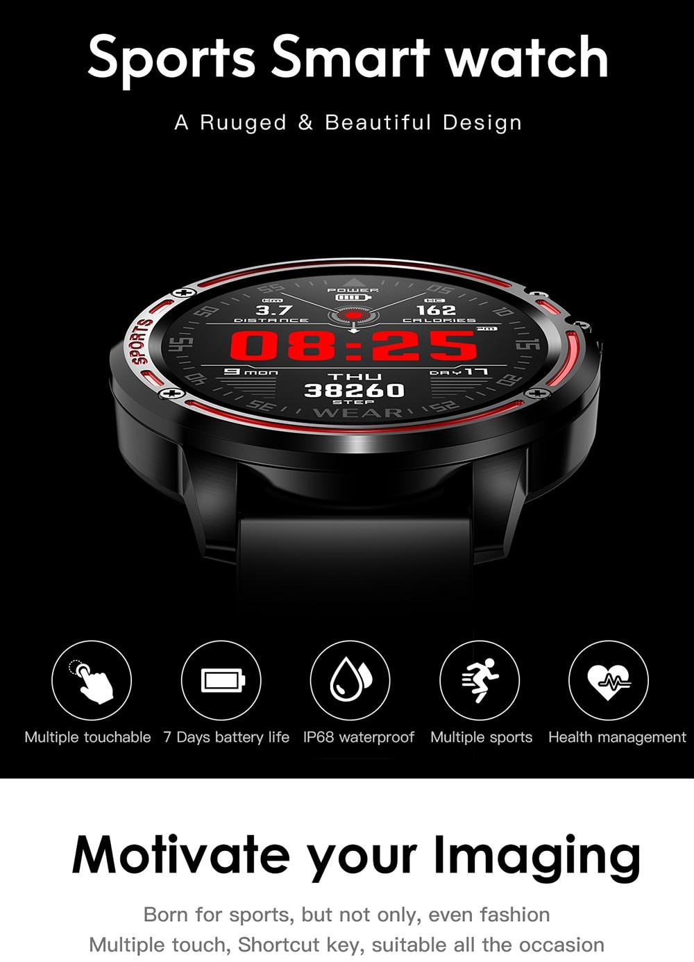 2020 waterproof sports smartwatches for men