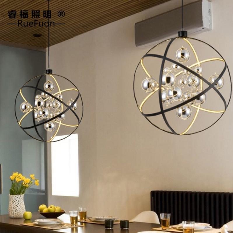globe living room  dining room lamp  fashion art designer  lamps and lanterns  post modern personality Chandelier|Pendant Lights| |  - title=