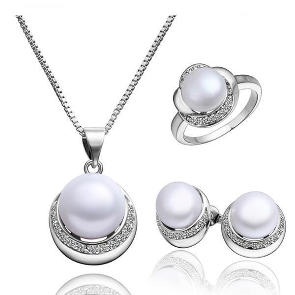 S003 moda de las nuevas mujeres del diseño de la joyería de la perla