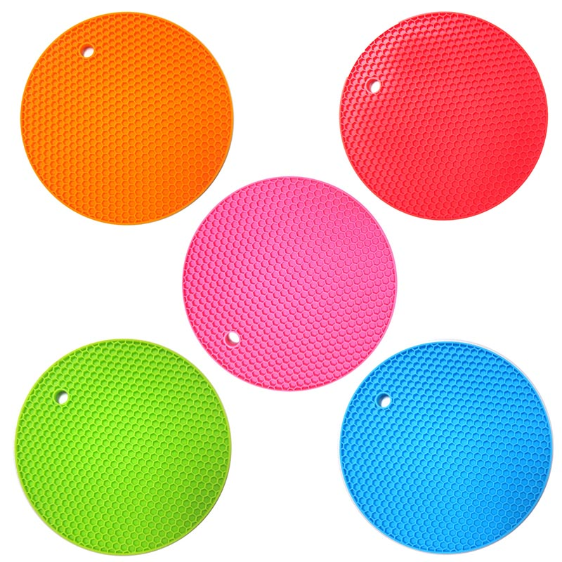 High Quality Kitchen Heat-resistant Silicone Mat Variety of Colors