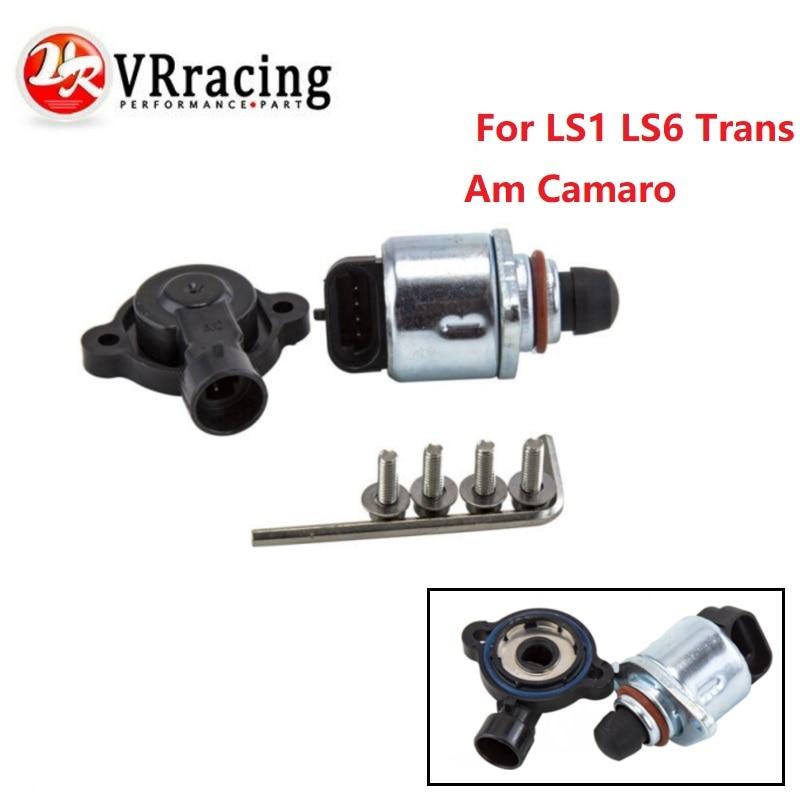 VR RACING - NEW TPS Throttle body posistion sensor and IAC sensors 4.8 - 5.3 - 6.0 For LS1 LS6 Trans Am Camaro VR5961