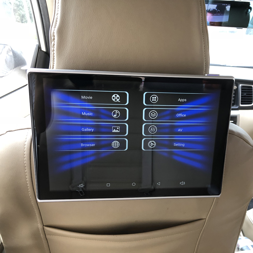auto rear seat entertainment 11 8 inch android 6 0 os. Black Bedroom Furniture Sets. Home Design Ideas