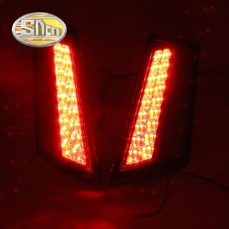 SNCN Multi-functions Car LED Rear Fog Lamp Brake Light Pillar Light Auto Bulb Decoration Lamp For Ford Ecosport 2013 - 2015 2016 sncn multi functions car led rear fog lamp brake light pillar light auto bulb decoration lamp for ford everest 2016 2017